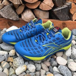 Reebok Nano CF74 RopePro Shoes 8.5 Blue CrossFit